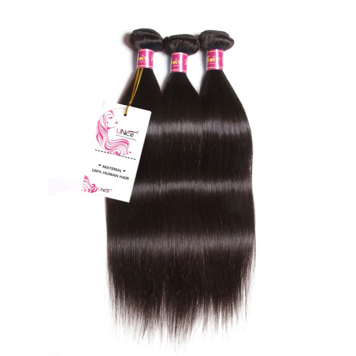 Unice virgin straight hair