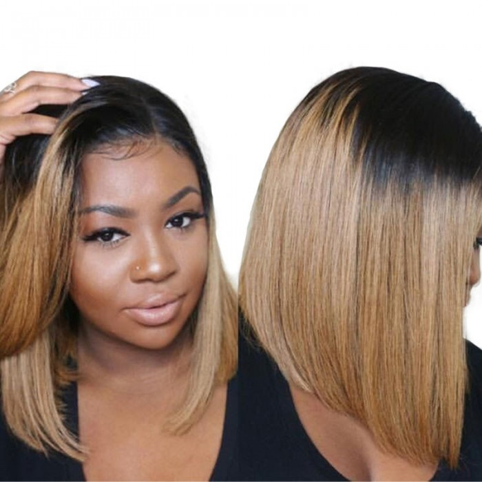 Unice Ombre Wigs Straight Bob Wig Lace Front Ombre Wigs For Sale Unice Com