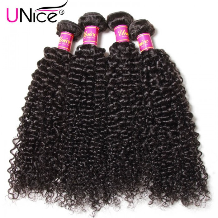 4Pcs Jerry Curly Hair