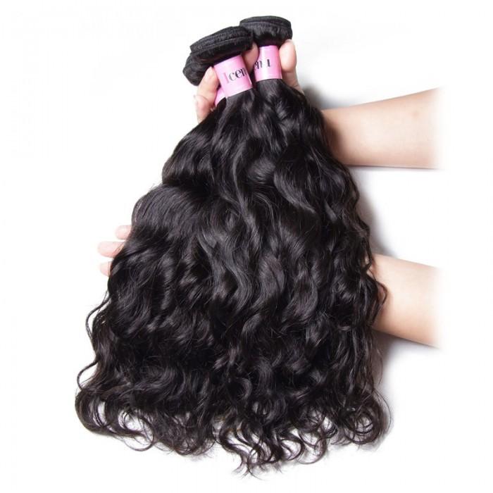 UNice-Icenu 4Pcs Brazilian Natural Wave Human Hair