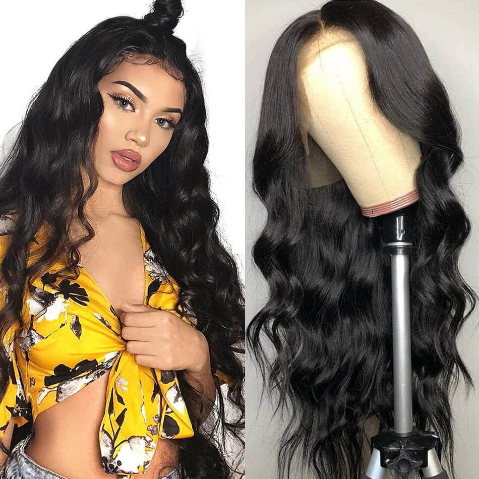 Unice Hair Popular Body Wave Lace Front Human Hair Wigs For