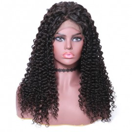 UNice Hair Bettyou Wig Serices New Arrival 100% Human Hair Kinky Curly Medium Length 360 Lace Front Wigs