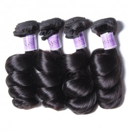 UNice-Kysiss 4 Pcs/pack Hair Brazilian Loose Wave Virgin Hair