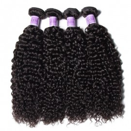 UNice-Kysiss 4 Bundles Brazilian Jerry Curly Human Virgin Hair