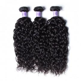 UNice-Kysiss Indian Water Wave 100% Virgian Human Hair 3 Bundles