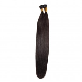 UNice Indian 50g I Tip Straight Human Hair Extensions 0.5 g/s