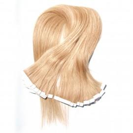 UNice Blonde Malaysian PU Hair 50g Wefts 100% Human Hair Straight