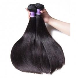 UNice-Kysiss Peruvian Straight Hair Weft 3 Bundles 8A Virgin Hair