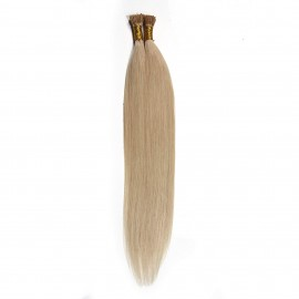 UNice 50g Brazilian Blonde Straight Human Virgin Hair Stick Tip 0.5 g/s