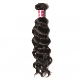 UNice Hair Products 1Bundle Virgin Human Hair Natural Wave