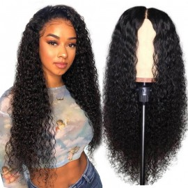 UNice   100% Human Hair Wig, Cheap Wigs for