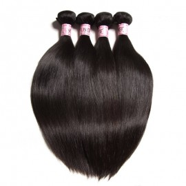 UNice 4 pcs/Pack Straight Remy Human Hair