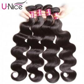 UNice Malaysian Body Wave Hair 4Pcs/pack