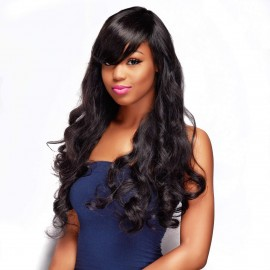 Unprocessed UNice Body Wave Hair 3 Bundles With Lace Closure