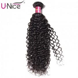 UNice Jerry Curly Human Virgin Hair Weaving