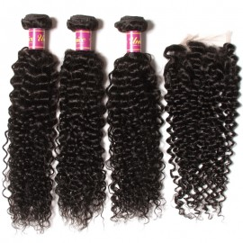 brazilian hair curly wave