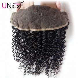 UNice Hair Icenu Series Jerry Curly Hair Lace Frontal Hair Closure