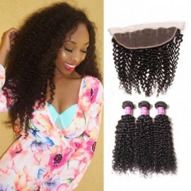 UNice Jerry Curly Lace Frontal Closure