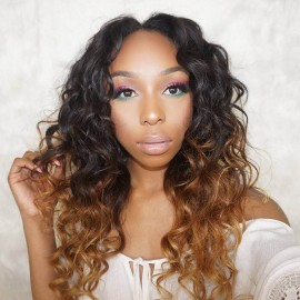 UNice Hair Products Ombre Body Wave Virgin Hair 3 Bundles