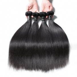 4 pcs/Pack Straight Virgin Remy Human Hair