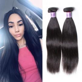 UNice Hair Kysiss Series 4 Bundles Unprocessed Straight Peruvian Virgin Human Hair