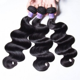 UNice Hair Kysiss Series Malaysian Body Wave Products 3 Bundles Virgin Human Hair