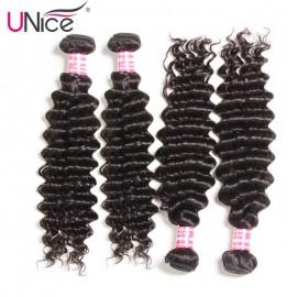 Unice Indian deep weave human hair