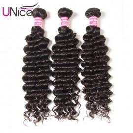 UNice Virgin Hair Deep Wave Hair