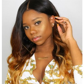 UNice Hair T1B/4/27 Ombre 4 Bundles Body Wave