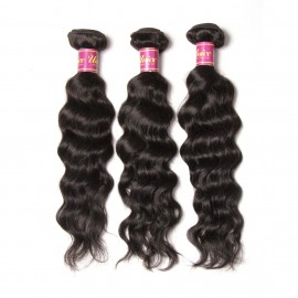 3pcs/pack UNice Brazilian Virgin Hair Natural Wave Human Hair Extensions
