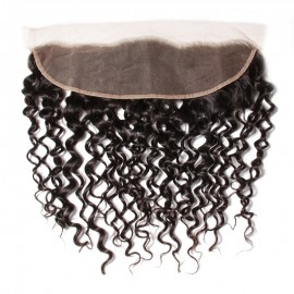 UNice Jerry Curly Hair Lace Frontal Hair Closure