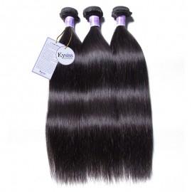 UNice Hair Kysiss Series 3pcs/pack Malaysian Straight Virgin Human Hair Weaves