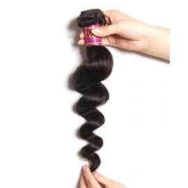 UNice Loose Wave Hair Extensions Unprocessed Human Virgin Hair