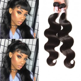 UNice 4 Bundles Body Wave Bundles Remy Hair