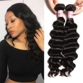 UNice 8A Remy Hair Bundles 4pcs/pack Natural Wave Bundles