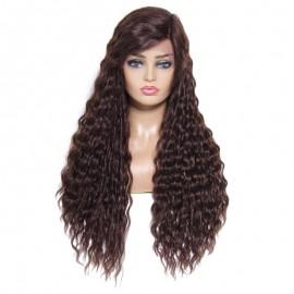 UNice Hair Bettyou Wig Series Medium Curly Brazilian Human Hair Wig Hand Tide Hairline