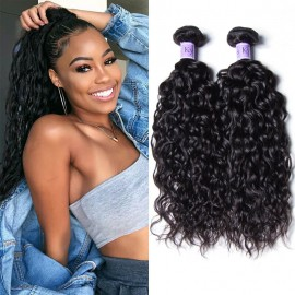 8A Grade Peruvian Water Wave 4 Pcs/pack Hair Weave