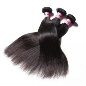 UNice Hair Icenu Series Brazilian Human Virgin Hair Straight 3 Bundles