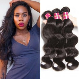 UNice Hair Products Brazilian Body Wave Virgin Hair 4 Bundles