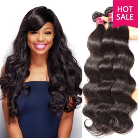 UNice Indian Body Wave Human Virgin Hair 4pcs/pack