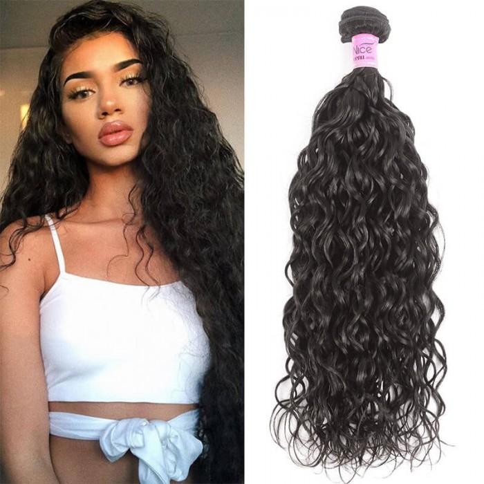 Unice cheveux Icenu Série 1 Piece Water Wave Cheveux 100% Vierges Cheveux