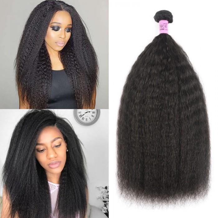 UNice Cheveux Icenu Séries cheveux produis 1 faisceau vierges humains cheveux raides écrus