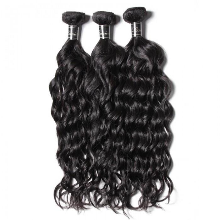 UNice Cheveux 3 Paquets Natural Wave Cheveux Paquets Premium Cheveux Humains Vierges Banicoo Séries