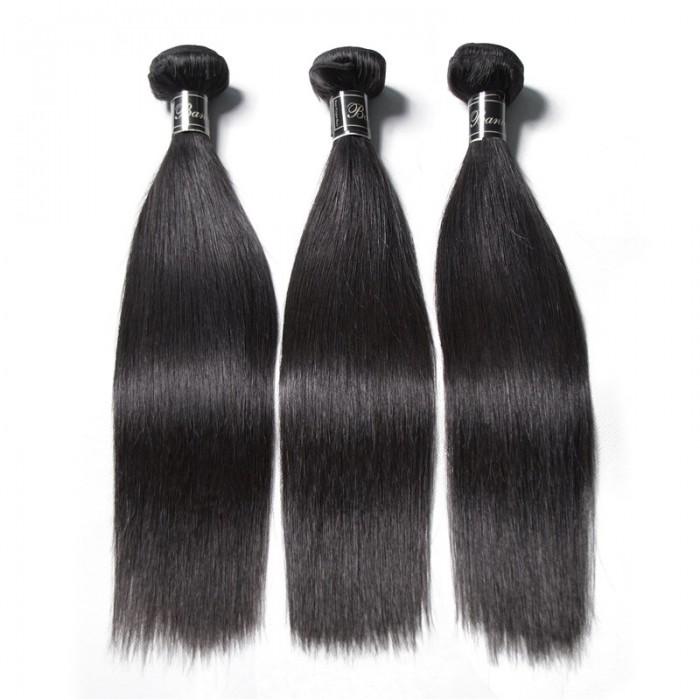 UNice Cheveux Banicoo Séries 3 Paquets Cheveux Droits Paquets Cheveux Vierges Premium