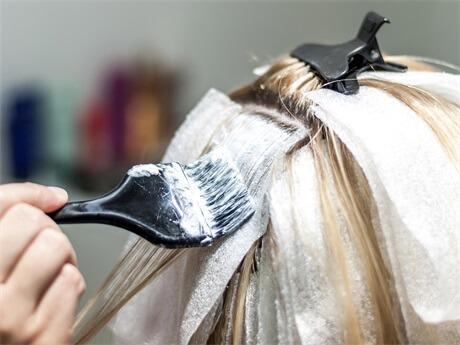 bleach-hair