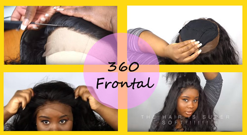 Installing procedure of 360 Lace Frontal