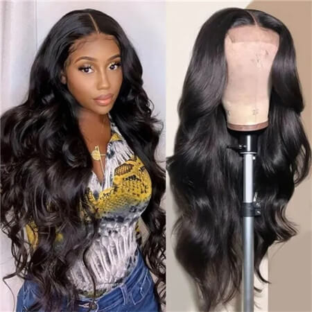 UNice Hair Pre Plucked Virgin Hair Body Wave HD Lace Closure Wigs Amazing Lace Melted Match All Skin Color Bettyou Series