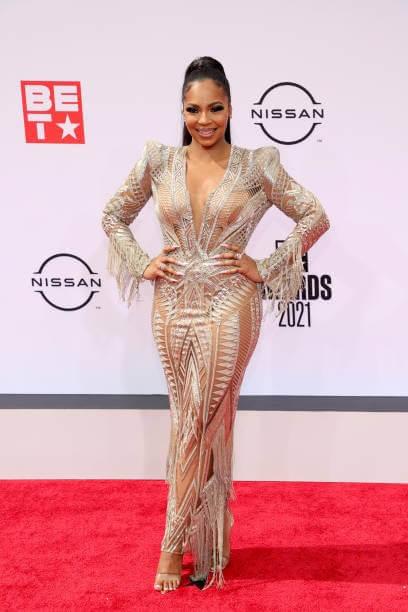 Ashanti On The BET Award Red Carpet