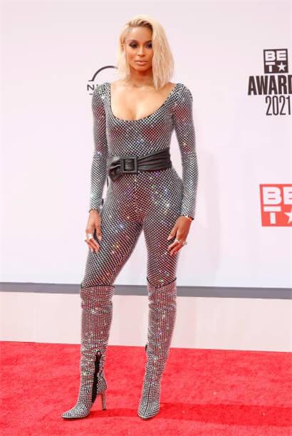 Ciara On The BET Award Red Carpet