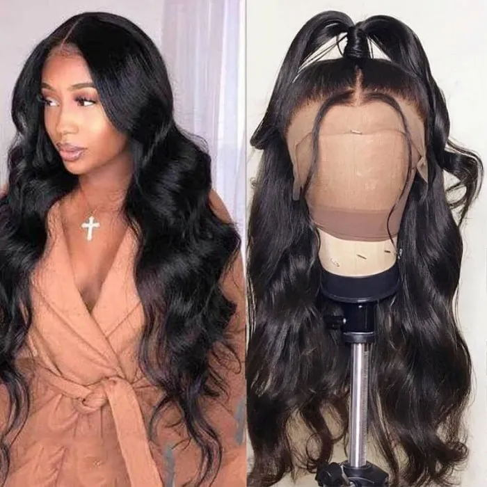 360 body wave wig